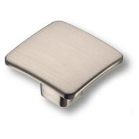 436025MP08 Ручка кнопка квадратная модерн, сатин-никель