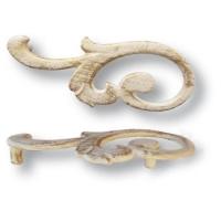 15.141.01.20 left Ручка скоба современная классика, слоновая кость 96 мм