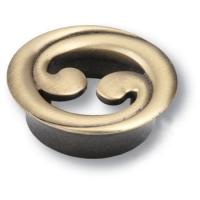 7211.0032.001 Ручка кнопка современная классика, античная бронза 32 мм