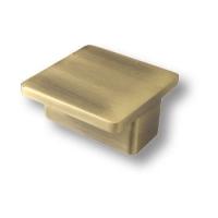 8094.15 Ручка кнопка квадратная современная классика, античная бронза 64 мм