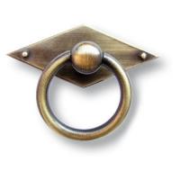 15.120.01.04 Ручка кольцо классика, старая бронза
