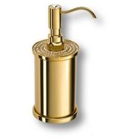 3507-78-003 Дозатор для мыла, латунь с кристаллами Swarovski, цвет - глянцевое золото