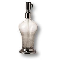 3507-75-005 Дозатор для мыла, латунь с кристаллами Swarovski, цвет - глянцевый хром