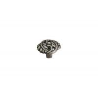 WPO.712Y.000.M00E8 Ручка-кнопка, отделка старое серебро с блеском