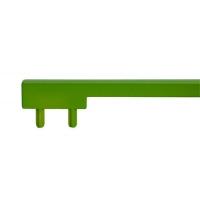 PI.CH0200.0002 Вставка пластиковая для ручки CH0200-160192.ХХ, отделка светло-зеленая