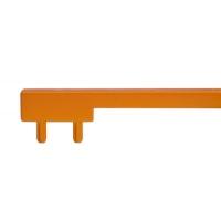 PI.CH0200.0001 Вставка пластиковая для ручки CH0200-160192.ХХ, отделка оранжевая