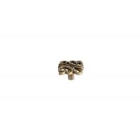 """WPO.707Y.000.M00D1 Ручка-кнопка, отделка бронза античная """"Флоренция"""""""