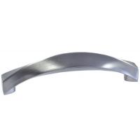 F107/D-CM Ручка-скоба 96мм, отделка сталь шлифованная