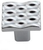 GU40-G0007Ручка  Wave, крацованый никель, Gamet