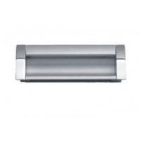 UA 08-0128-AOCOO-G0008 Ручка , алюминий/мат хром, 128мм, Gamet