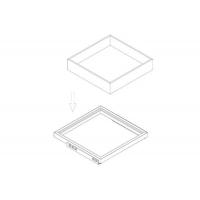 Ящик Н=100, для рамки в базу 530, арабика