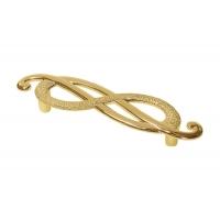 EA036Z096D0.70 Ручка-скоба 96мм (правая), отделка золото императорское