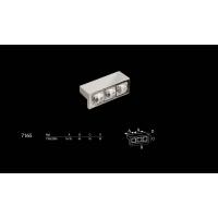 7165.0045.030 Ручка кнопка с кристаллами Swarovski эксклюзивная коллекция, графитовый 32 мм