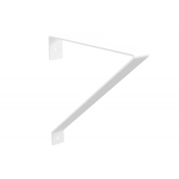 Менсолодержатель «Лофт-2», отделка белый бархат (матовый)