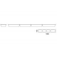 Емкость для сетки П-образной в базу 1200