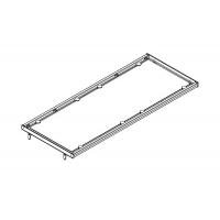 Полка в базу 1200 с алюминиевой рамкой под стекло