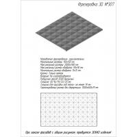 Фрезеровка 307 Оллин, фасады МДФ в пленке ПВХ, любые размеры