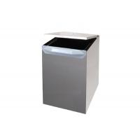 Ведро для мусора (17л) выдвижное, сталь нержавеющая