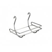 Держательна рейлинг для бумажных полотенец 250х165х190 мм, хром глянец