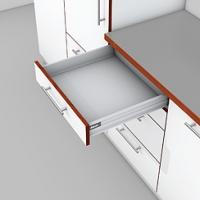 Выдвижной ящик Tandembox (Тандембокс) M, L=650мм, серый