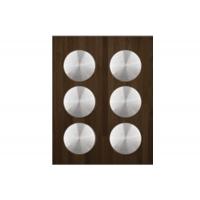 Ёмкость в базу 450, с 6 банками (1.0л), венге/стекло, для ящика Blum (L=500мм)