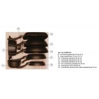 Ёмкость в базу 600, с набором посуды (8 предметов), бук, для ящика Hettich (L=470мм)
