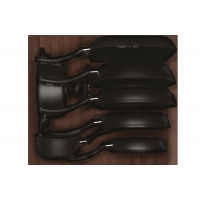 W60.15/B/HTCH47 Ёмкость в базу 600, с набором посуды (8 предметов), венге, для ящика Hettich (L=470мм)