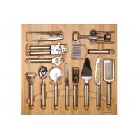 Ёмкость Casseto в ящик 600, с кухонными приборами (13 предметов), бук (60.01/N/BT50)