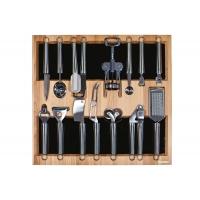 Ёмкость в базу 600, с кухонными приборами (14 предметов), бук, для ящика Hettich (L=470мм)
