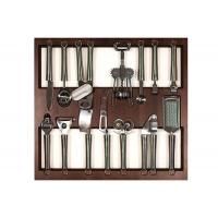 Ёмкость в базу 600, с кухонными приборами (14 предметов), венге, для ящика Blum (L=500мм)