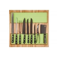 Ёмкость в базу 600, с набором ножей (9 предметов), бук, для ящика Blum (L=500мм)