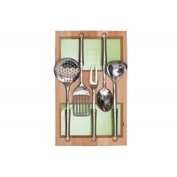 Ёмкость-расширитель 300 с кухонными приборами (5 предметов), бук, для ящика Blum (L=500мм)
