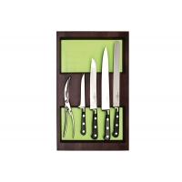 Ёмкость-расширитель 300 с набором ножей (5 предметов), венге, для ящика Hettich (L=470мм)