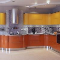 RAL 1017 краска для фасадов МДФ шафранно-желтая