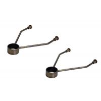 Комплект кронштейнов для крепления к стене, отделка под бронзу (2 шт.)