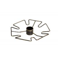 Полка для бокалов центральная d=310 мм, бронза