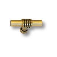 47105-22 Ручка кнопка современная классика, старая бронза