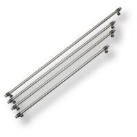 47107-63 Ручка рейлинг современная классика, серебро 448 мм