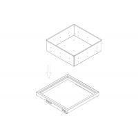 Поддон Н=151, для рамки в базу 530, арабика