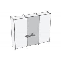 Plano Комплект фурнитуры для центральной двери (левой)