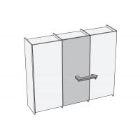Plano Комплект фурнитуры для центральной двери (правой)