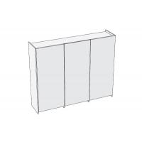 Plano Комплект доводчиков для 3-х дверного шкафа