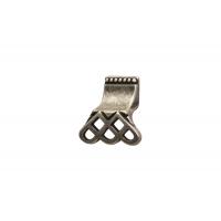 15144Z03800.25 Ручка-кнопка, отделка серебро старое