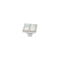 24299Z02700.32 Ручка-кнопка, отделка никель глянец + перламутр