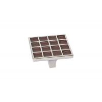 24200Z0520N.G32 Ручка-скоба 32мм, отделка никель глянец + шоколад