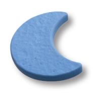 688AZ Ручка кнопка детская, месяц синий