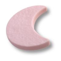 688RS Ручка кнопка детская, месяц розовый