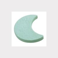 688VE Ручка кнопка детская, месяц зеленый