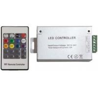 RGB-контроллер с пультом ДУ, радиоканал, 20 кнопок, 15А