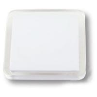 697BL7 Ручка кнопка квадратная модерн, белый